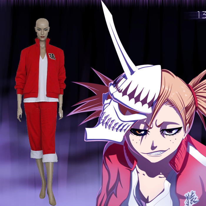 Déguisements Bleach Sarugaki Hiyori Costume Carnaval Cosplay