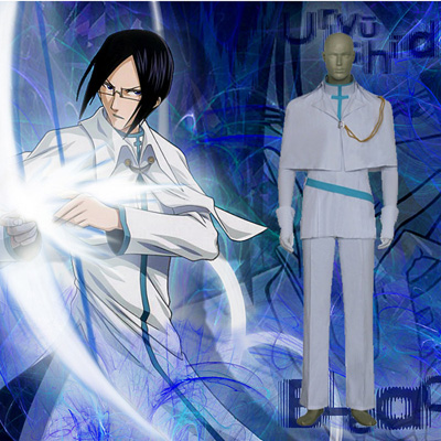 Bleach Uryuu Ishida Cosplay Costume Vêtements Carnaval