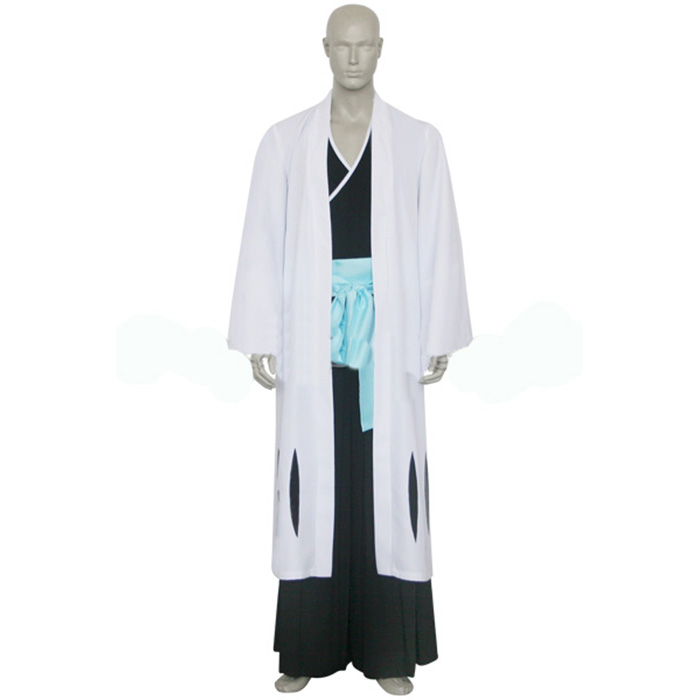 Bleach 8th Division Captain Kyouraku Shunsui Cosplay Jelmez Karnevál