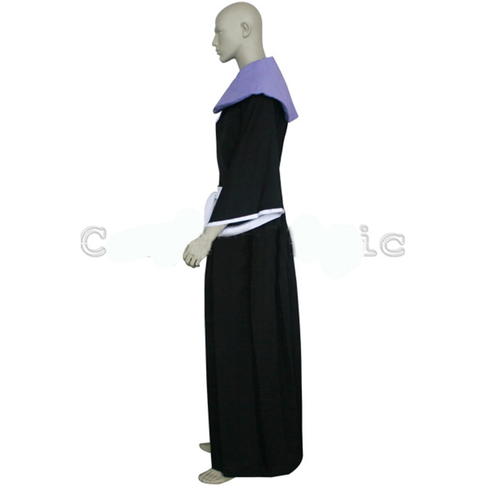 Déguisements Bleach 2nd Division Lieutenant Omaeda Marechiyo Costume Carnaval Cosplay