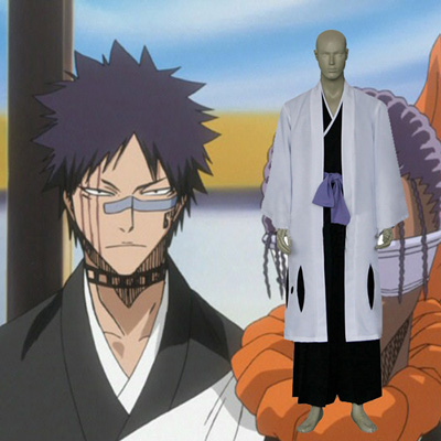 Bleach 9th Division Captain Tousen Kaname Cosplay Kostume Fastelavn