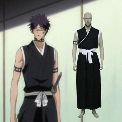 Bleach 9th Division Lieutenant Hisagi Shuuhei Cosplay Outfits