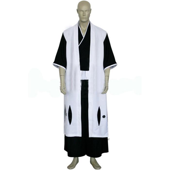 Bleach 3rd Division Captain Ichimaru Gin Cosplay Outfits