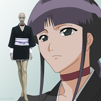 Bleach 12th Division Lieutenant Kurotsuchi Nemu Cosplay Outfits