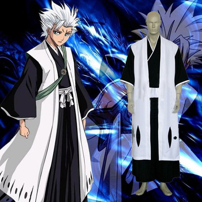 Bleach Hitsugaya Toushirou Cosplay Costume Vêtements Carnaval