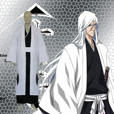 Bleach 13th Division Captain Ukitake Juushiro Cosplay Kostume Fastelavn