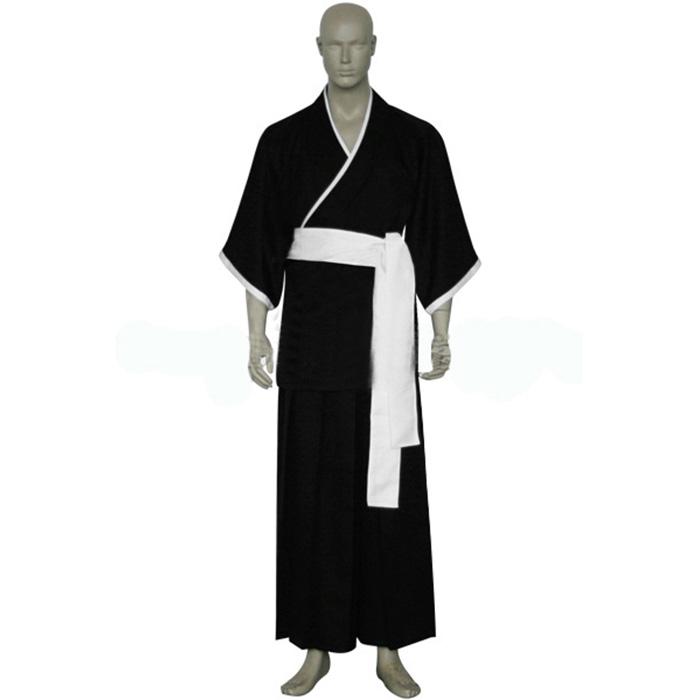 Luxury Bleach 13th Division Lieutenant Shiba Kaien Cosplay Costumes Wellington