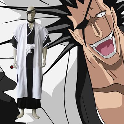 Bleach 11th Division Captain Zaraki Kenpachi Cosplay Kostume Fastelavn