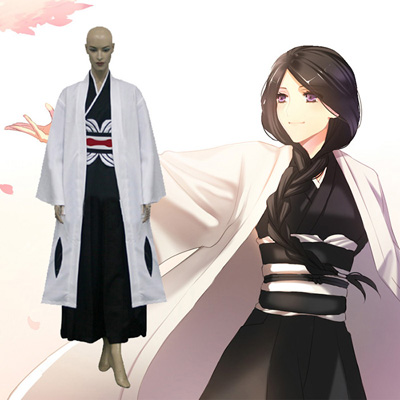 Bleach 4th Division Captain Unohana Retsu Cosplay Kostym Karneval
