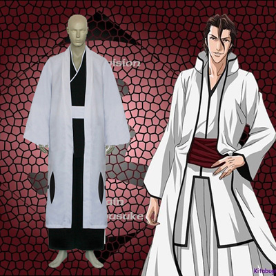 Luxury Bleach 5th Division Captain Aizen Sousuke Cosplay Costumes Wellington