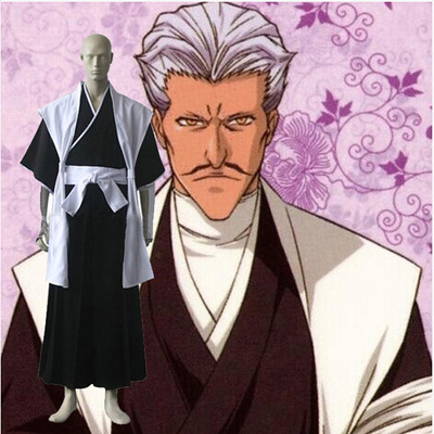Bleach Chojiro Sasakibe Cosplay Outfits Clothing