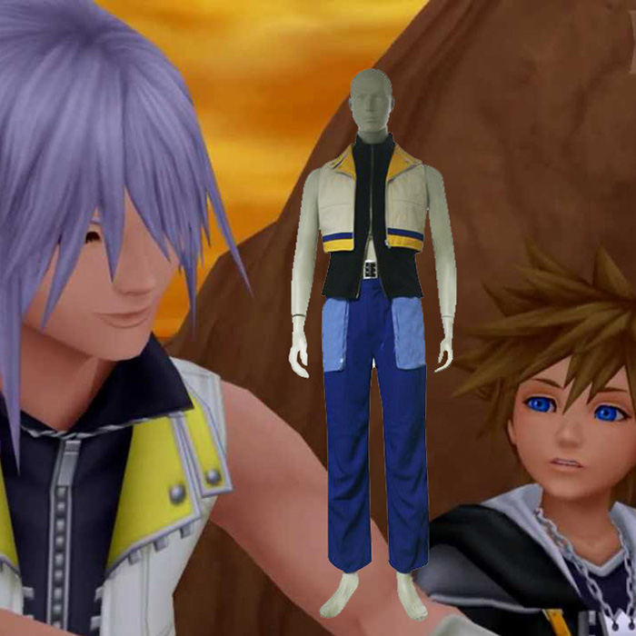 Kingdom Hearts 2 Riku-Cosplay Jelmez Karnevál