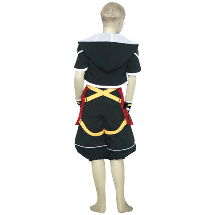 Kingdom Hearts 2 Sora Kids Cosplay Kostume Fastelavn