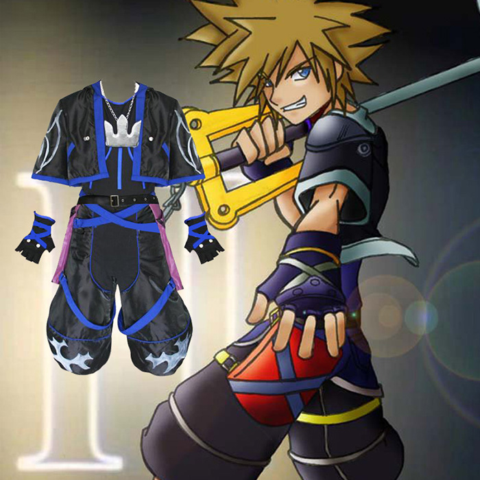 Déguisements Kingdom Hearts 2 Anti Sora Costume Carnaval Cosplay