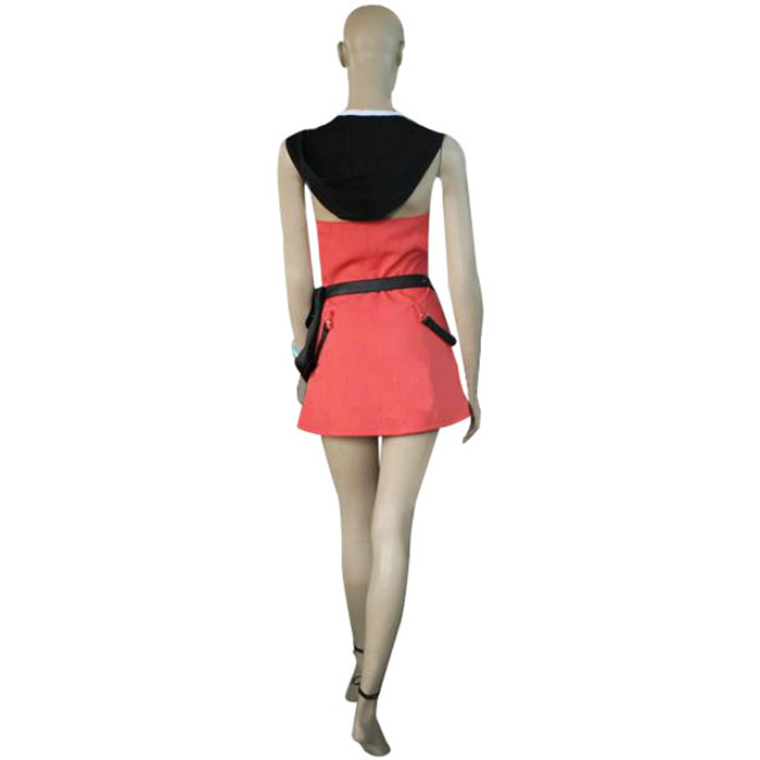 Kingdom Hearts 2 Kairi Pink Dress Cosplay Outfits