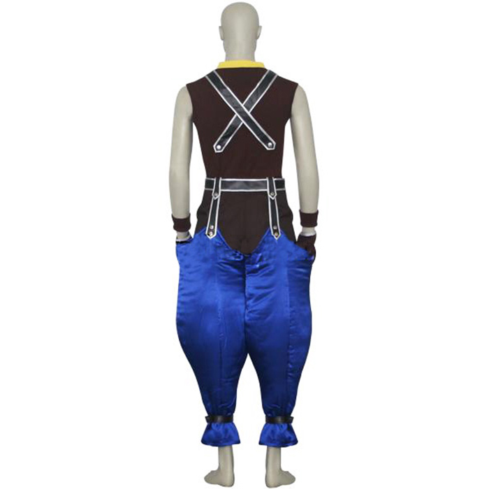 Kingdom Hearts 1 Riku Cosplay Outfits
