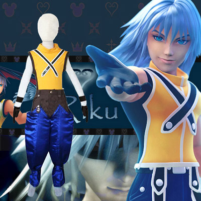 Kingdom Hearts 1 Riku Kids Cosplay Kostume Fastelavn