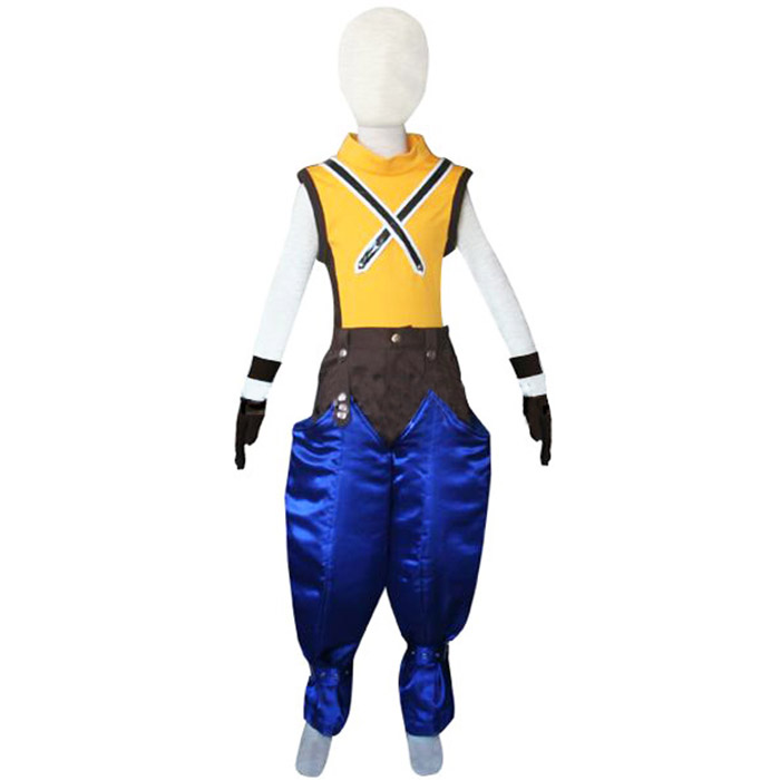 Kingdom Hearts 1 Riku Kids Cosplay Outfits