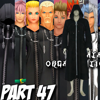 Kingdom Hearts 2 Organization Cosplay Outfits