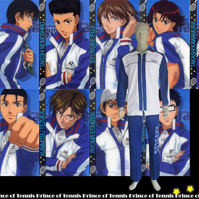 The Prince Of Tennis Seigaku Cosplay Kostyme Karneval