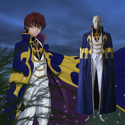 Code Geass Knight of Seven Cosplay Kostume Fastelavn