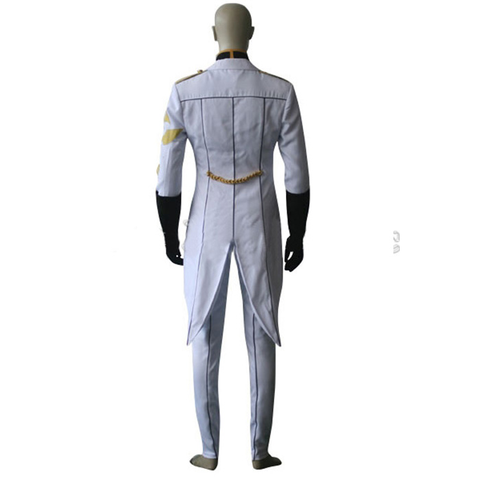 Code Geass Gino Weinberg Cosplay Outfits