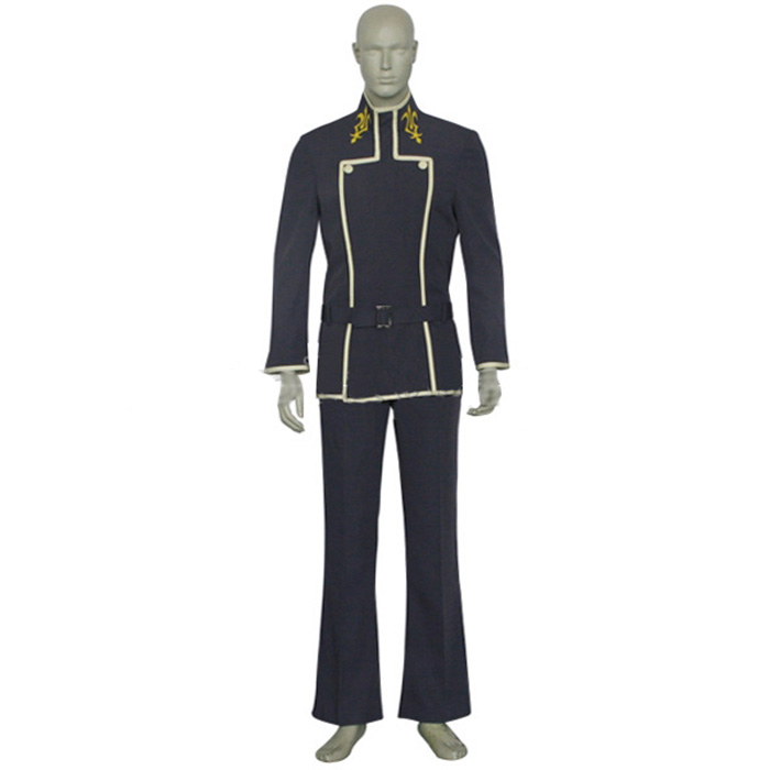 Code Geass Lelouch vi Britannia Lamperouge Cosplay Kostume Fastelavn