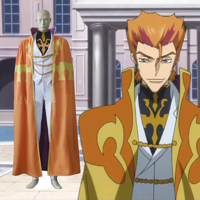 Code Geass Luciano Bradley Cosplay Costumes London