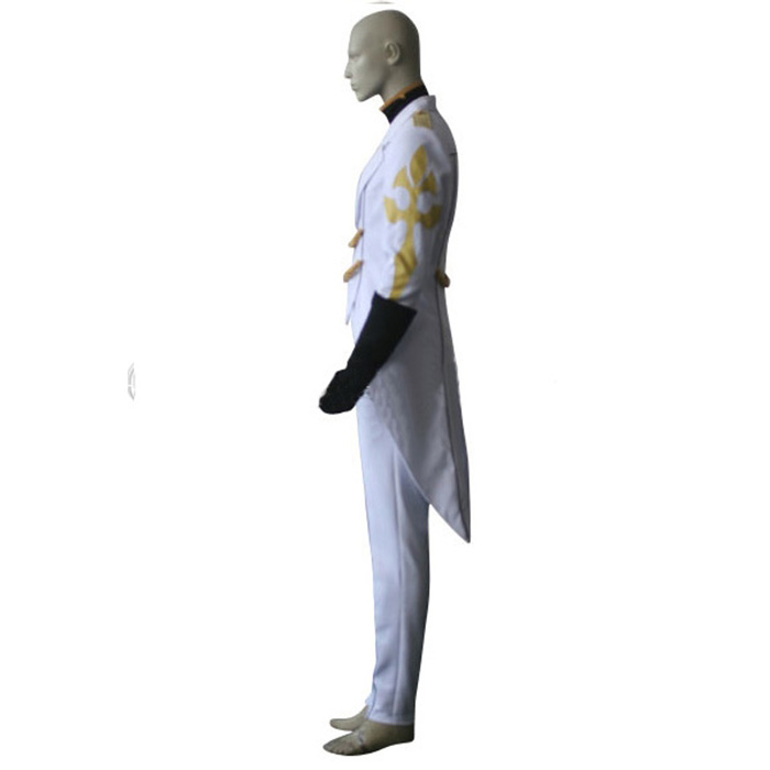 Code Geass Luciano Bradley Cosplay Kostume Fastelavn