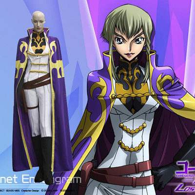 Disfraces Code Geass Nonet Aniaguram Cosplay Spain