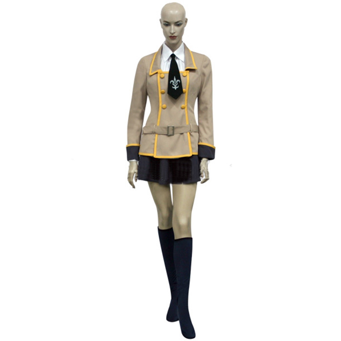 Déguisements Code Geass School Uniform Girls Costume Carnaval Cosplay