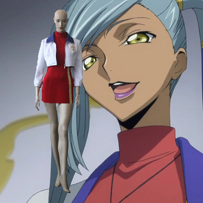Code Geass Villetta Nu Cosplay Outfits