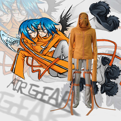 Top Air Gear AkitoAgito Wanijima Cosplay Costumes Sydney