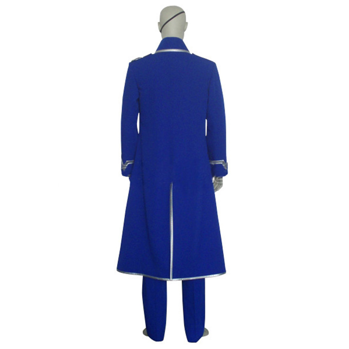 Luxury Fullmetal Alchemist King Bradley Cosplay Costumes Wellington