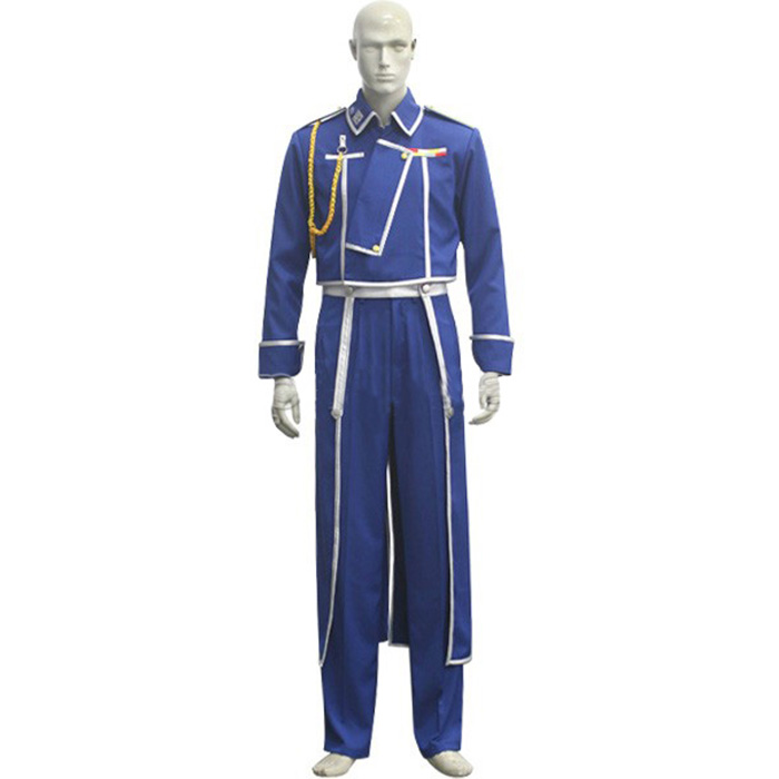 Déguisements Fullmetal Alchemist Roy Mustang Costume Carnaval Cosplay