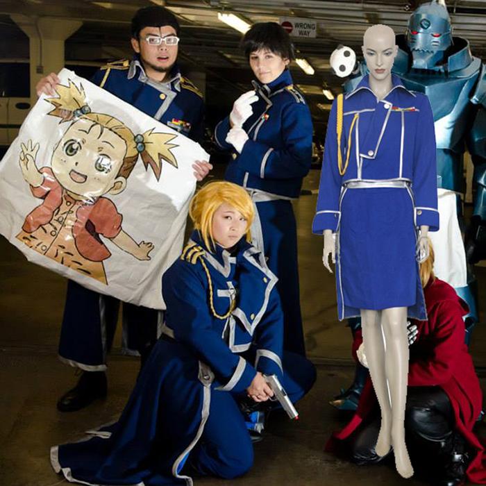 Fullmetal Alchemist Winry Rockbell Cosplay Arm Kostume Fastelavn