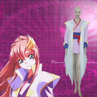 Déguisements Mobile Suit Gundam Seed Lacus Clyne Fightting Costume Carnaval Cosplay