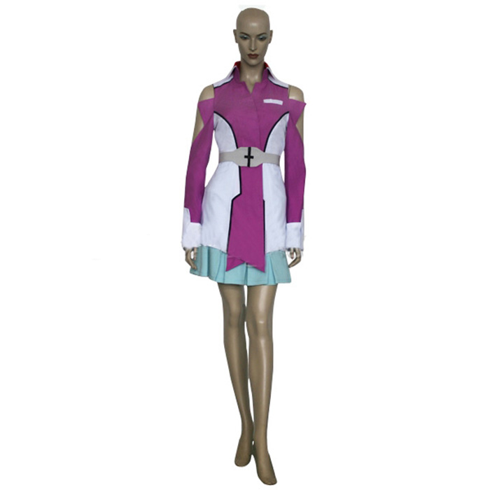 Déguisements Mobile Suit Gundam Seed Stellar Loussier Costume Carnaval Cosplay
