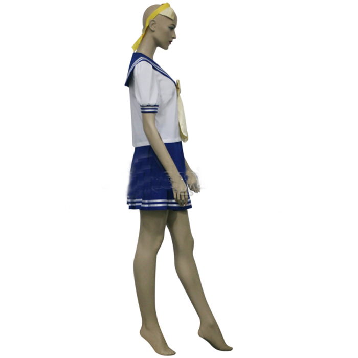 Lucky Star Girls Uniform Cosplay Outfits
