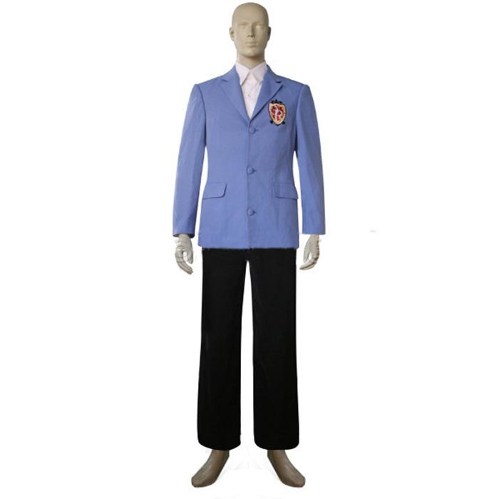 Ouran High School Host Club Boy Uniform Cosplay Kostume Fastelavn