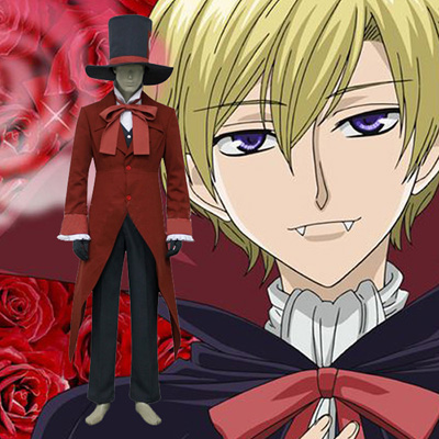 Ouran High School Host Club Tamaki Cosplay Kostym Karneval