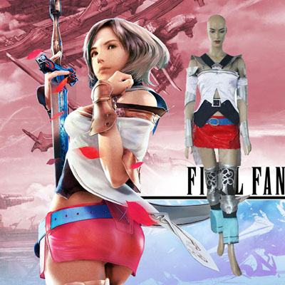 Final Fantasy XII 12 Ashe Cosplay Costume Carnaval