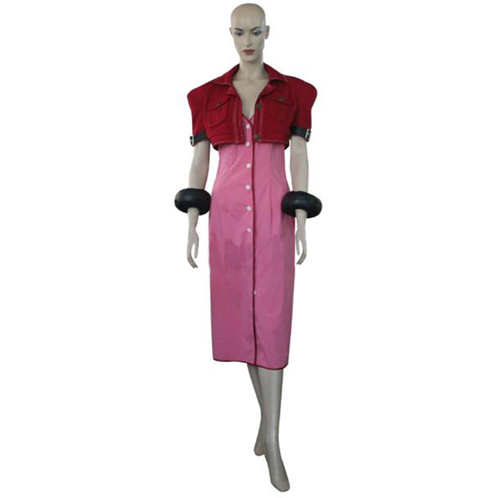 Luxury Final Fantasy VII 7 Aerith Cosplay Costumes Wellington