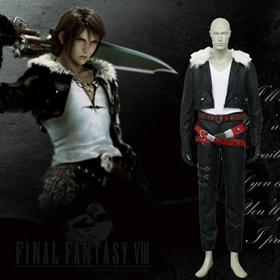 Final Fantasy VIII 8 Squall Cosplay Costumi Carnevale