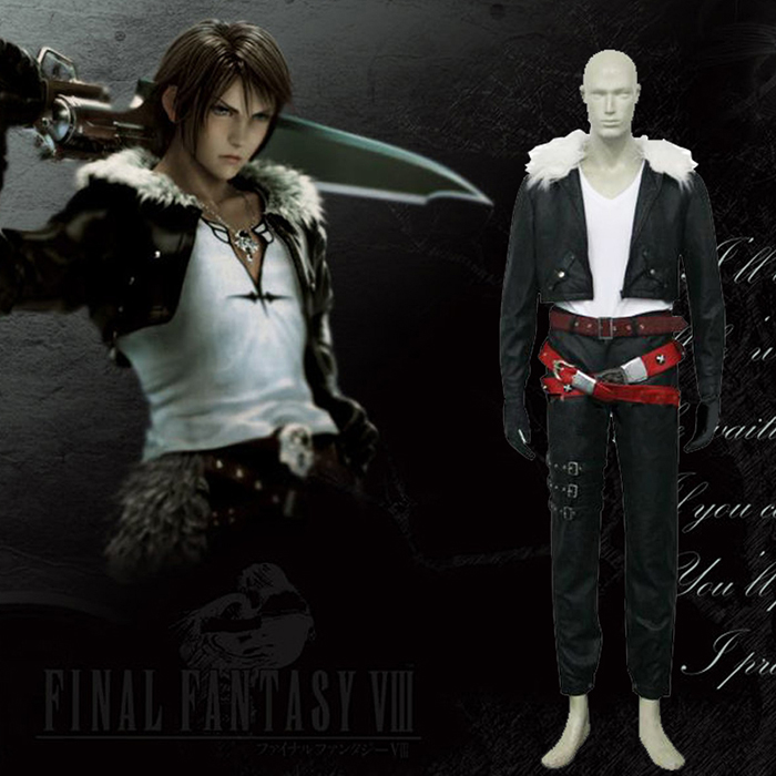 Déguisements Final Fantasy VIII 8 Squall Costume Carnaval Cosplay