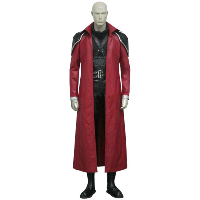 Luxury Final Fantasy VII 7 Genesis Rhapsodos Cosplay Costumes Wellington