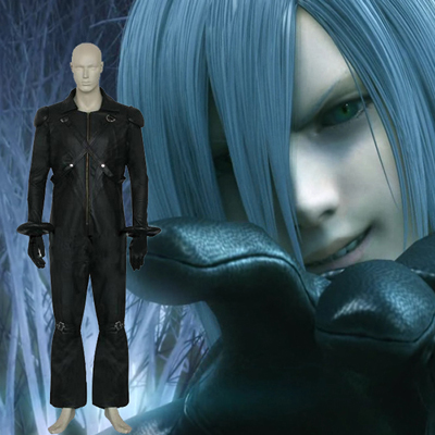 Final Fantasy VII 7 Kadaj Cosplay Costume Carnaval
