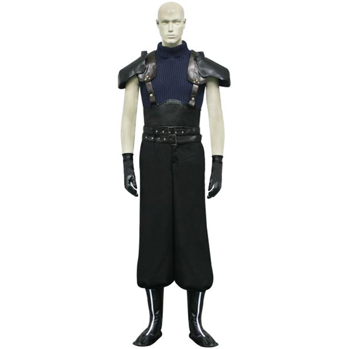 Final Fantasy VII 7 Crisis Core Zack Fair Cosplay asut Naamiaisasut