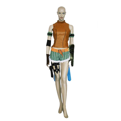 Final Fantasy X 10 Rikku Cosplay Costume Carnaval