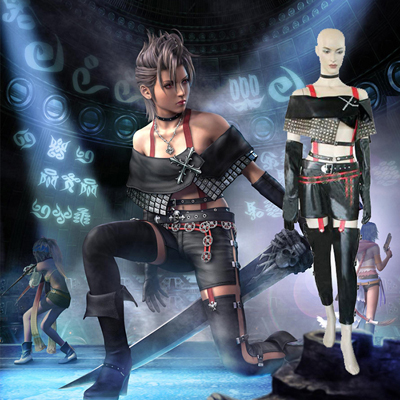 Final Fantasy XII 12 Paine Cosplay Outfits